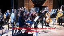 L'Orchestre des jeunes de la Grande Région en répétition à Nancy