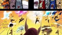 Kaguya VS Naruto, Sasuke, Kakashi and Sakura
