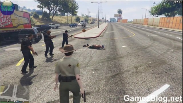 Gta 5 LSPDFR Female Police Gameplay