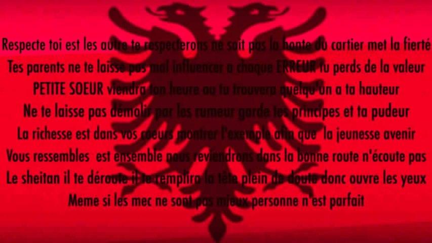 Kemajl (Shqip NB) - Soeur Albanaise (Official Lyrics)