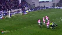 Nicola Sansone Amazing Free Kick Goal Sassuolo vs Juventus 1-0 (Seria A) 2015