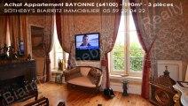 A vendre - appartement - BAYONNE (64100) - 3 pièces - 190m²