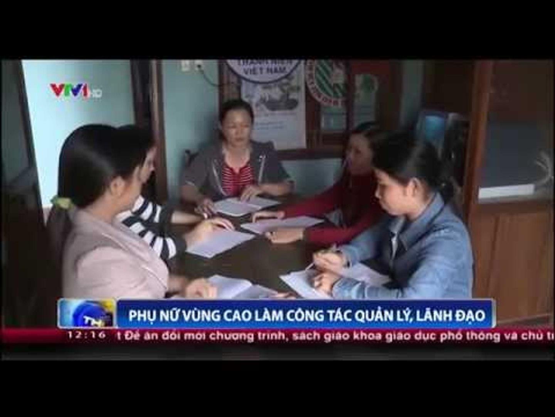 Phụ nữ vùng cao làm công tác quản lý, lãnh đạo