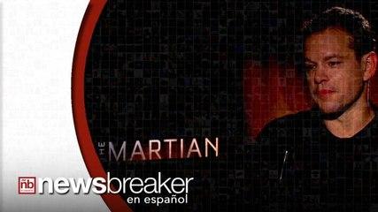 Matt Damon nos Habla de su Personaje en 'The Martian'