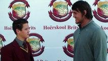 Franco Mostert besoek Hoërskool Brits