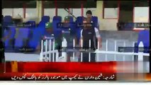Shane Warne joins Pakistan Cricket Team in Sharjah to Giv Bowling tips To Yasir Shah-