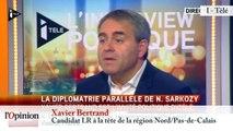 """TextO' : N.Sarkozy en Russie - T. Mandon : """"Il est comme un chien dans un jeu de quille"""""""