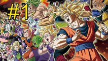 Dragon Ball Z Extreme Butoden {3DS} part 1 — Dragon Team