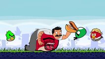 Angry bobs burgers(angry birds meet bobs burgers)