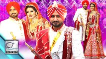 Harbhajan Singh - Geeta Basra WEDDING Ceremony   Inside Pictures