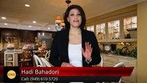 (949) 610-5720Hadi BahadoriHadi Bahadori Laguna NiguelSuperbFive Star Review by Ben B.