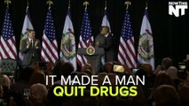 Obama Makes Speech So Powerful, It Made A Man Quit Drugs & Turn Himself In
