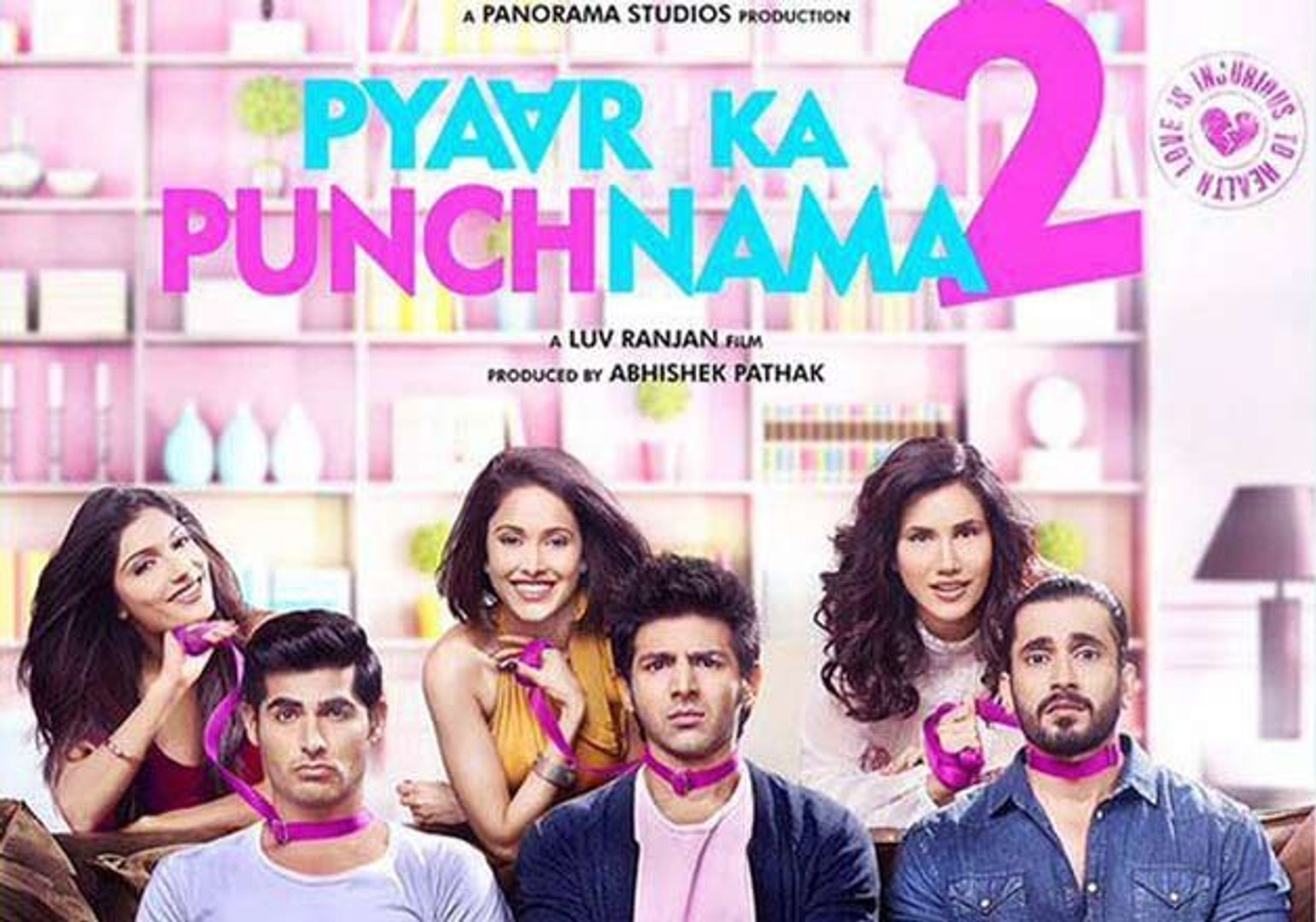 Watch Pyaar Ka Punchnama 2  2015 - Kartik Aaryan, Nushrat Bharucha & Sunny  - Full Movie Event