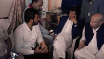 Imran Khan Visited Slain Workers and Condolences