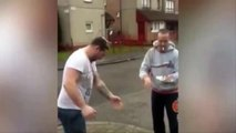 Scottish pals become viral sensation after man challenges his friend to eggy bet in hilarious video