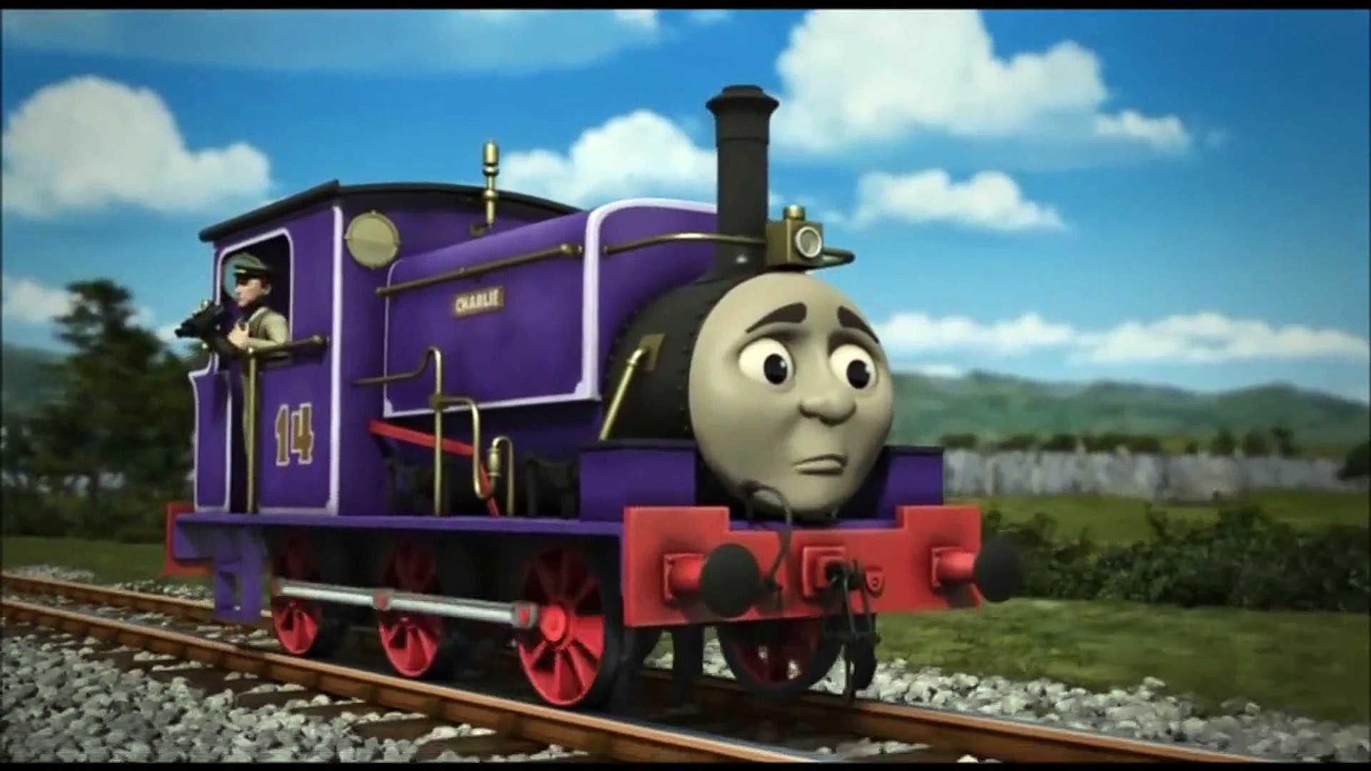 Charlie Rescuses The Elephant Thomas Friends Uk Dailymotion