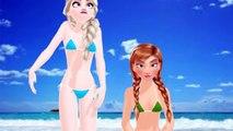 Elsa Y Ana Frozen Bikini Dadada Funny Song