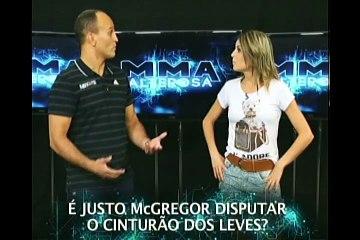 Rafael Sapo manda recado para os mineiros durante preparação para o UFC