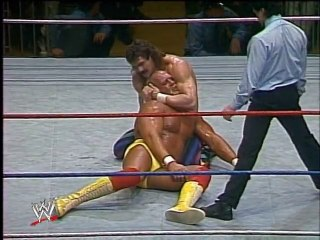 WWF 1988 - Hulk Hogan Vs. Rick Rude