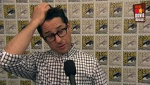 Star Wars: The Force Awakens J.J. Abrams at Comic Con 2015