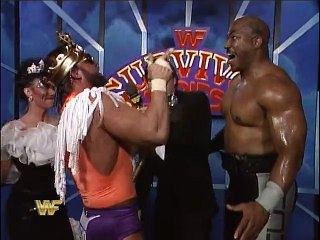 WWF Survivor Series 1989 - Randy Savage Post-Match Interview