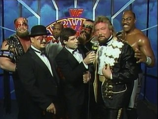 WWF Survivor Series 1989 - Team Dibiase Bonus Interview