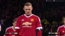 Wayne Rooney 1:0 | Manchester United v. Sheffield United (FA Cup) 09.01.2016 HD
