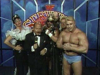 WWF Survivor Series 1989 - Team Savage Bonus Interview