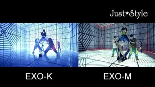 EXO Overdose MV Teaser EXO K V S EXO M