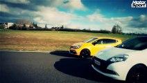 Drag race : Renault Clio 4 RS VS Clio 3 RS Cup (Motorsport)