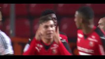 Dembele O. Goal - Rennes 1-2 Lorient Highlights Ligue 109-01-2016