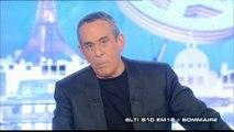 Thierry Ardisson très à l'aise avec Rachida Dati dans Salut Les Terriens