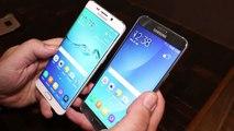Samsung Galaxy S6 edge+ Hands On und Kurztest [Deutsch - German]