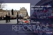 [REPORTAGE] Hommage aux victimes des attentats