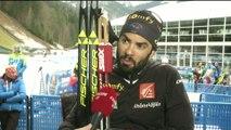 Biathlon - CdM (H) - Ruhpolding : Simon Fourcade «Dans le rouge dans le dernier tour»
