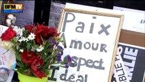 Hommage aux victimes des attentats de 2015 à République vu par le public
