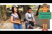 Video Pengamen Wanita Jalanan - Show Bareng Adik-adik