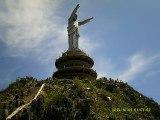 GIANT JESUS STATUE IN TANA TORAJA , INDONESIA
