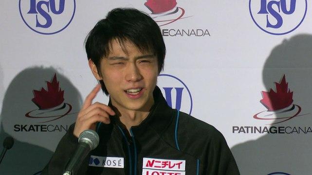 2015 Skate Canada International: Yuzuru Hanyu (Silver-Men's)