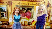 Frozen Elsa and Princess Anna Valentines Day Heart and Cards Did Kristoff Forget Valentine