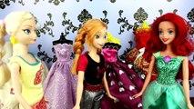 Anna and Kristoff Wedding Preparations, Annas wedding dress for her Frozen Wedding - Elsa