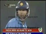 Umar Gul Sledging & Fight with Yuvraj Singh India vs pakistan -