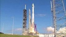 Atlas V rocket blasts off on space mission