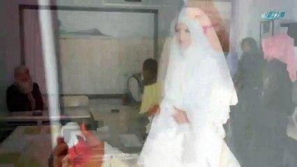 Düğünden önce sandığa gitti