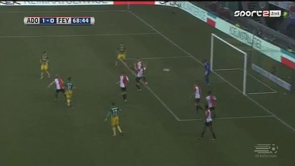 Автогол Свен ван Бэк · Ден Хааг (Гаага) - Фейеноорд (Роттердам) - 1:0