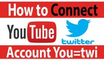 How To Connect Youtube And Twitter Accounts || Auto post your Twitter account from youtube