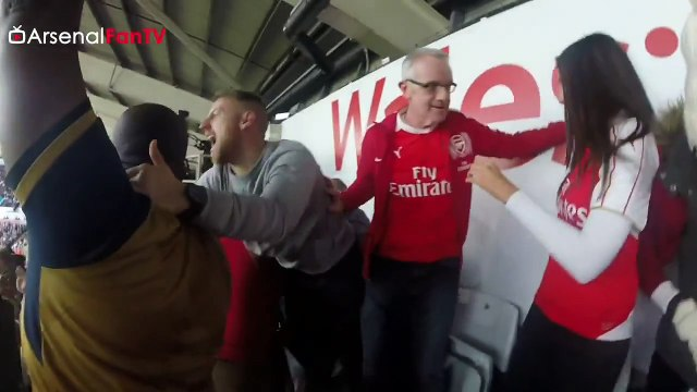 Fans Sing _Joel's A Gooner_ After His First League Goal For Arsenal