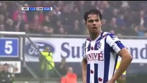 Heerenveen vs Cambuur 2-0. Mitchell Te Vrede Goal. Eredivisie 1_11_2015