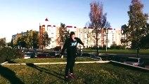 Compilation de parkour et freerunning 2015 ( Parkour and Freerunning 2015 - Jump the World ) !