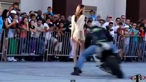 Stoppie Kiss Saxy Girls Stunt Motocycle Compilation